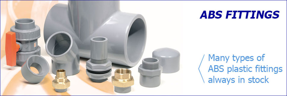 ABS Pipe Fixings and Tube