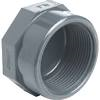 PVCu Cap BSP female threaded