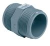 PVCu Hexagon nipple BSPM/BSPM threaded