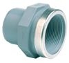 ABS Adaptor plain male spigot/BSPF threaded reinforced