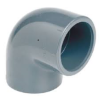 PVCu Elbow 90° plain