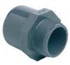 PVCu Socket plain/BSP female threaded